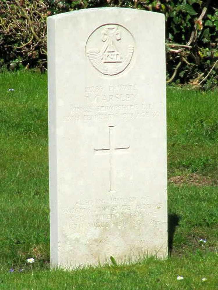 Commonwealth War Graves Trefonen Cemetery