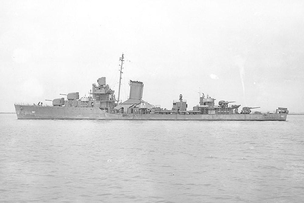 Shipwreck USS Blue (DD-387)