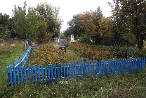 Mass Grave Soviet Soldiers Novomyrhorod
