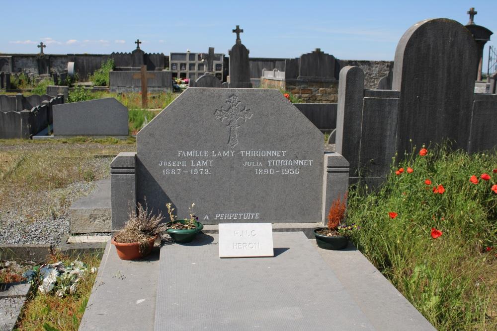 Veteran War Graves Héron