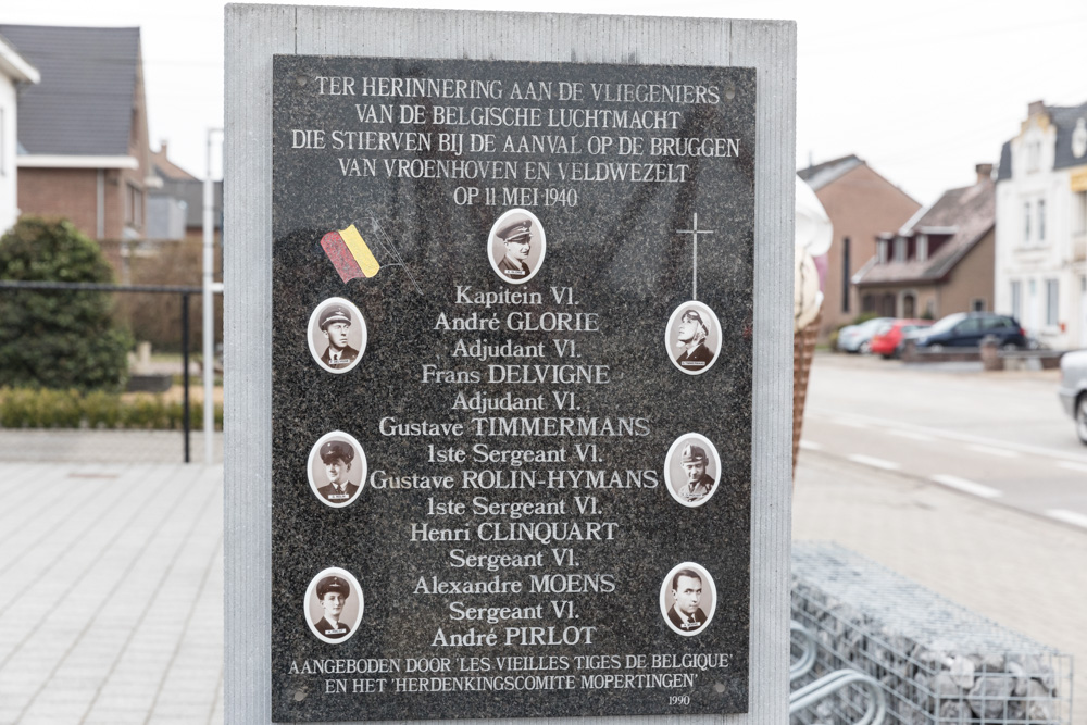 Monument Gesneuvelde Belgische Piloten