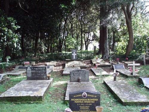 Commonwealth War Grave Wightman Road Maori Cemetery