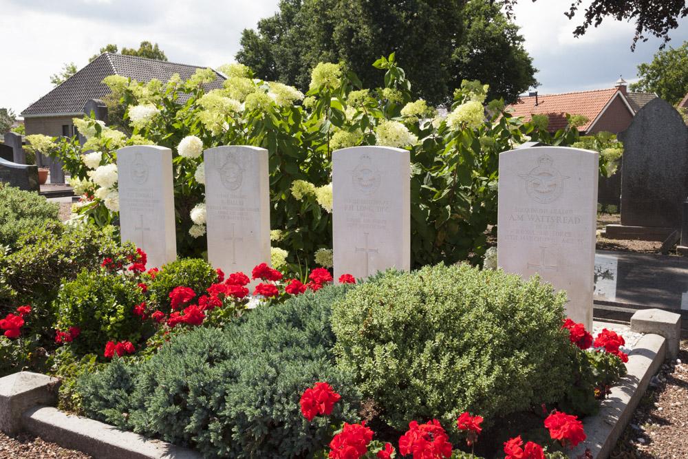 Commonwealth War Graves Protestant Cemetery Denekamp