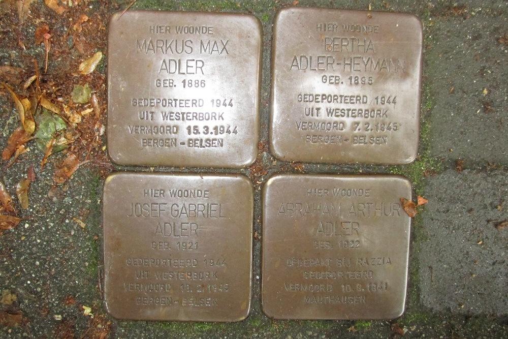 Stumbling Stones Andreas Bonnstraat 30