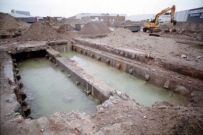 Fundamenten Schnellbootbunker