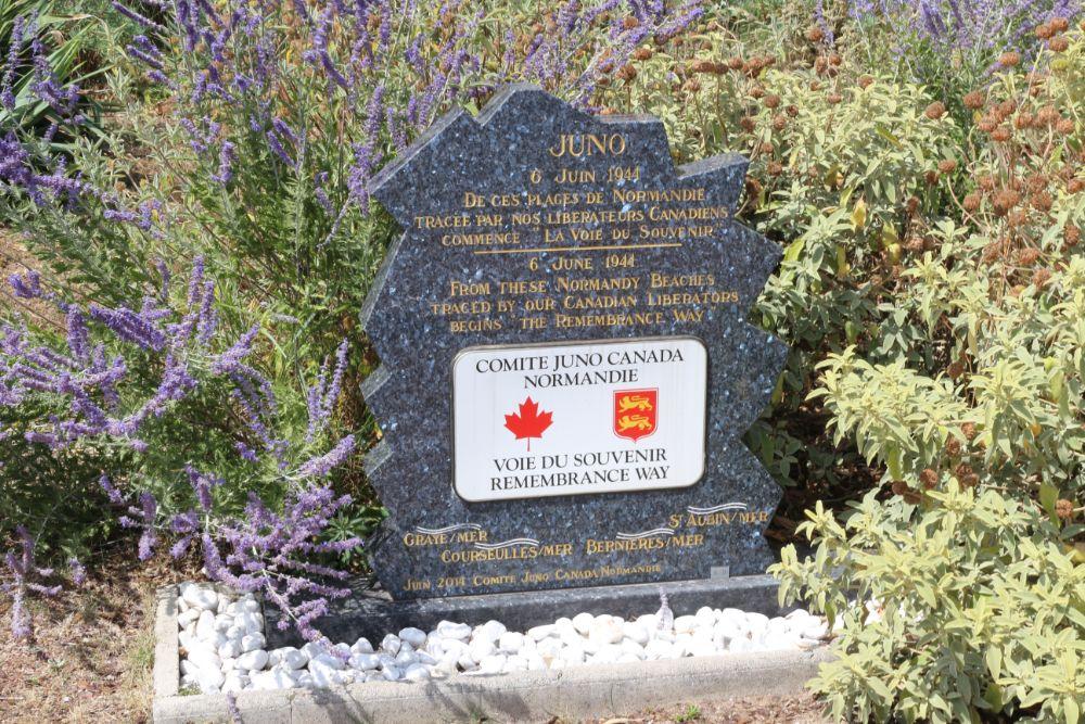 Monument Juno Beach Comite