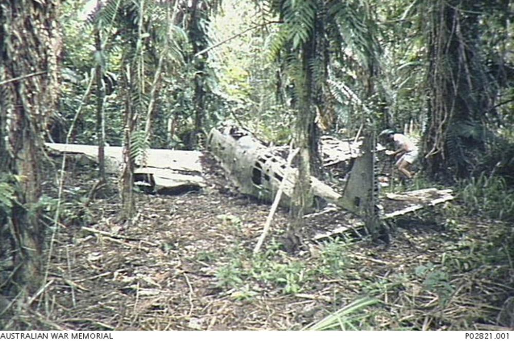 Crash Site & Remains Kawasaki Ki-48-I no. 484