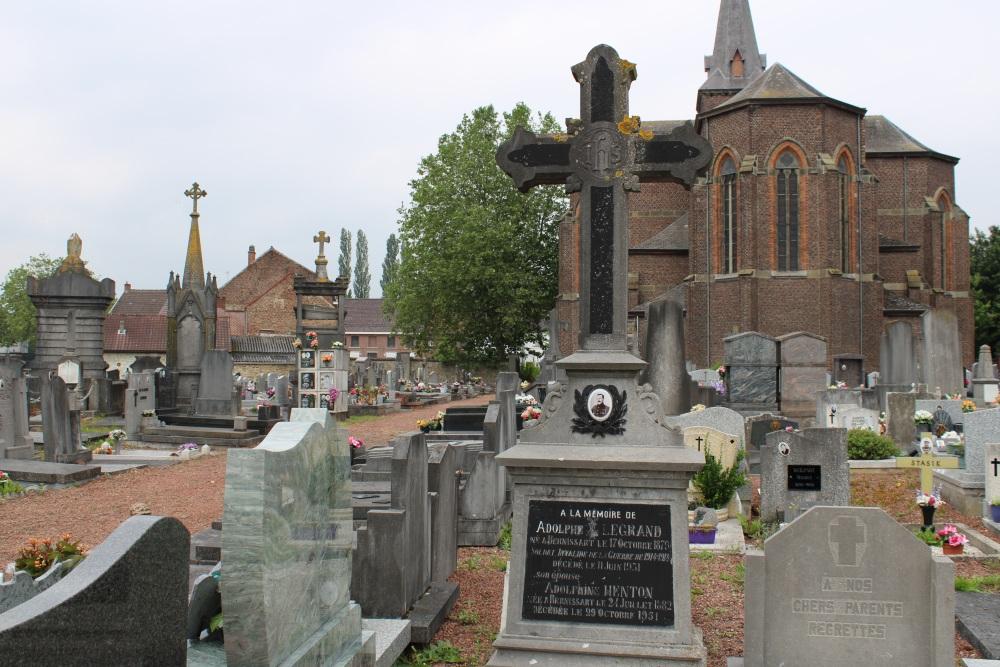 Veteran War Graves Bernissart