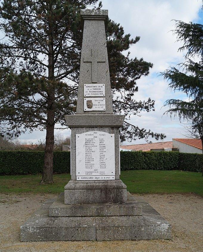 War Memorial La Tardière