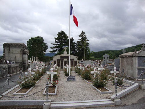 French War Graves La Salvetat-sur-Agout
