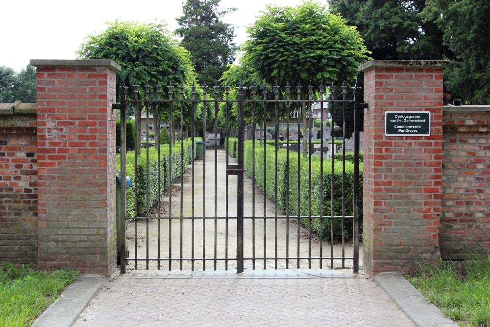 Oorlogsgraven van het Gemenebest Morkhoven