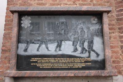 Plaquette Verbinding 11 januari 1945