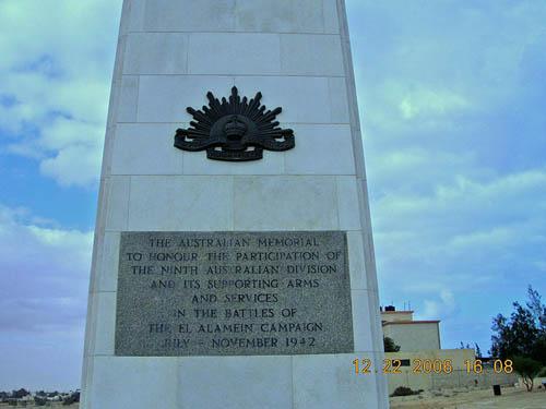 Australian War Memorial El Alamein