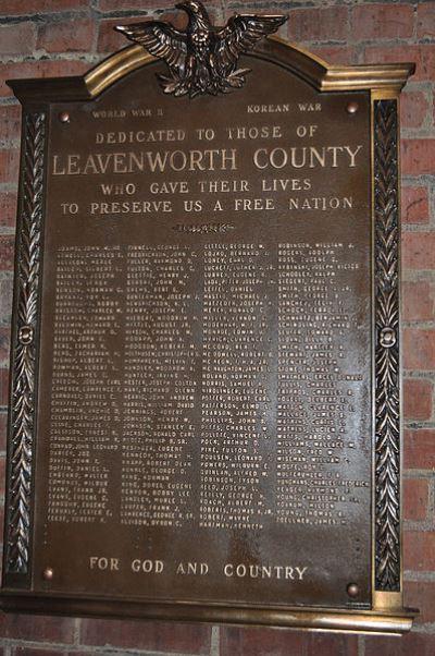 War Memorial Leavenworth City Hall
