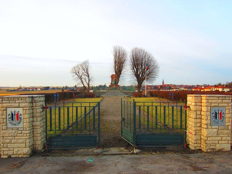 Oorlogsbegraafplaats Frans-Duitse Oorlog Noisseville