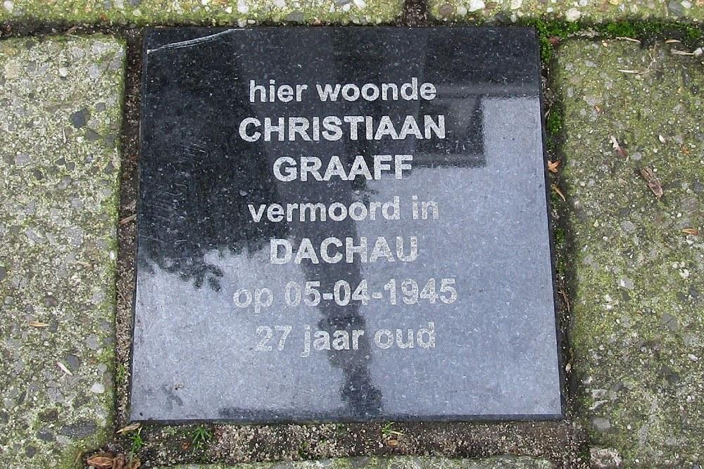 Memorial Stone Westerstraat 51