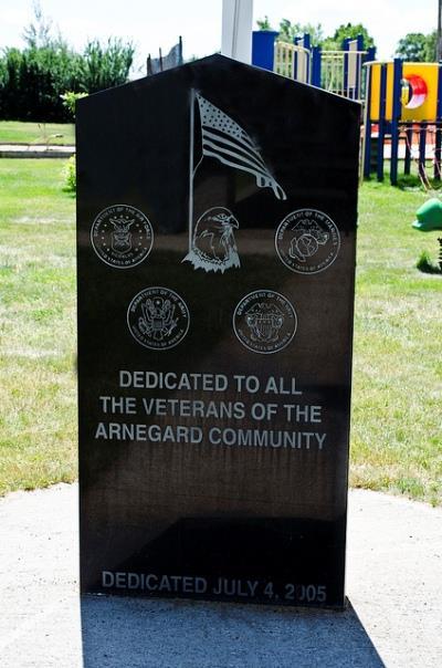 Monument Veteranen Arnegard