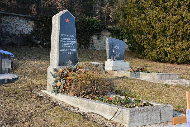 Massagraf Sovjetsoldaten Hernstein