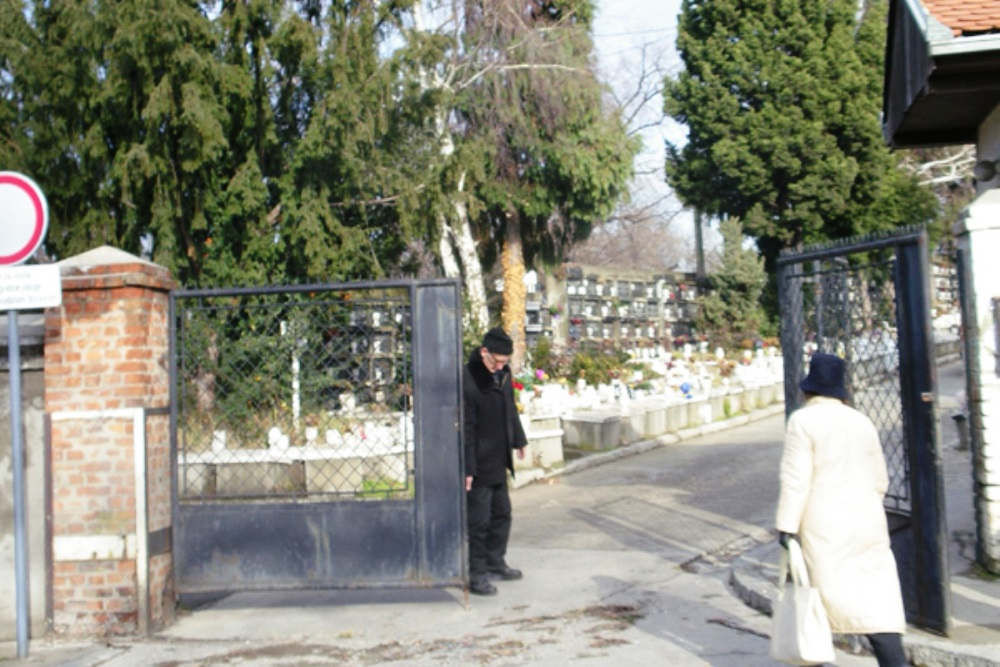 Yugoslav War Grave (CWGC) New Cemetery Belgrado