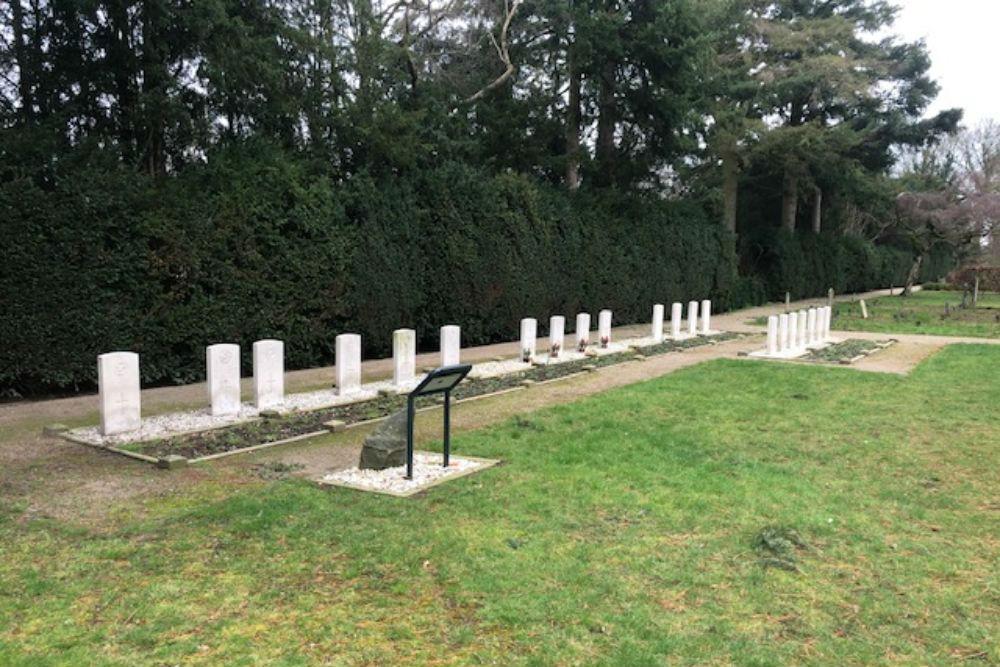 Commonwealth War Graves Old General Cemetery Wierden