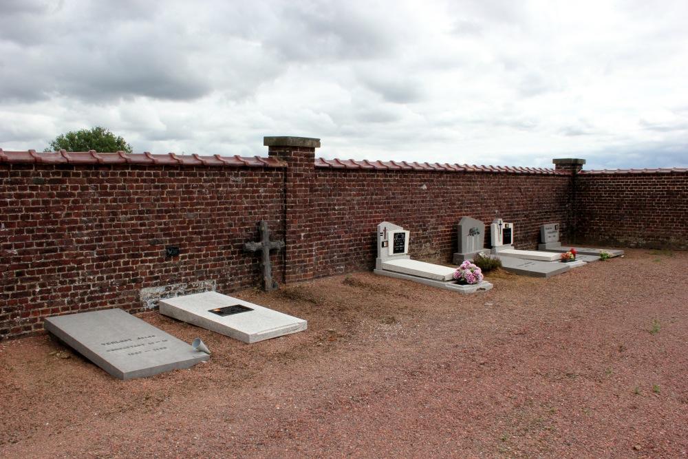 Belgische Oorlogsgraven Baisy-Thy