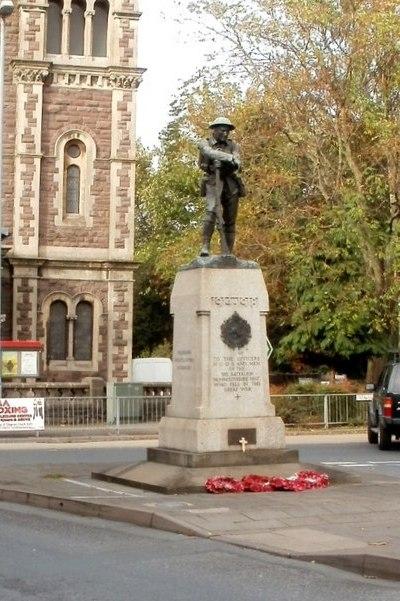 War Memorial 3rd Battalion Monmouthshire Regiment