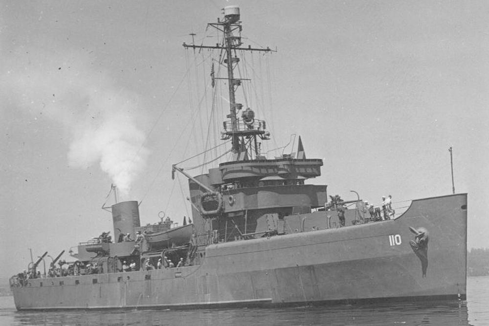 Scheepswrak U.S.S. Portent (AM-106)