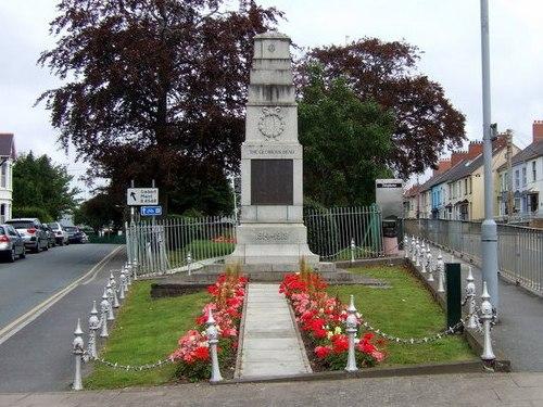 War Memorial Cardigan