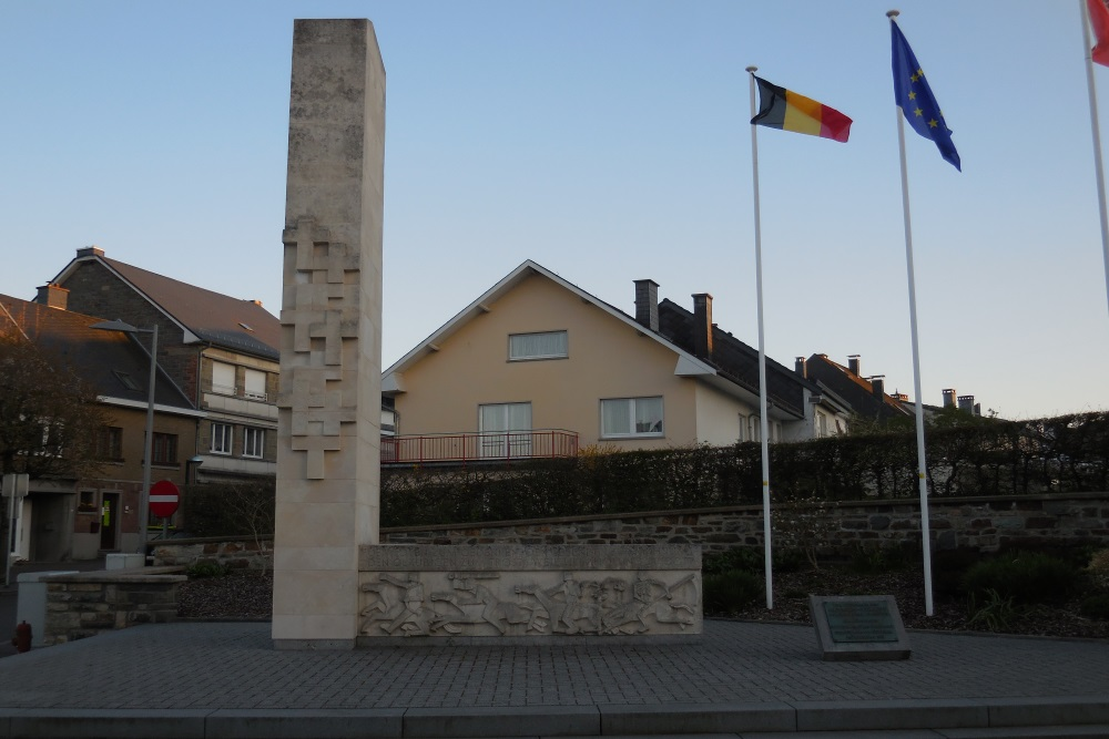 War Memorial Sankt Vith - Sankt Vith - TracesOfWar com