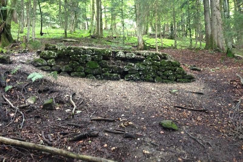 Kampfhäusl Hut Ruins