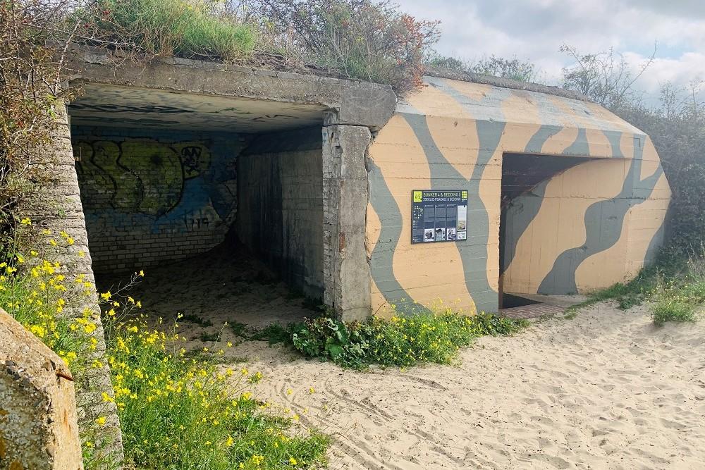 Garage Searchlight Bunkerroute no. 4-5 De Punt Ouddorp