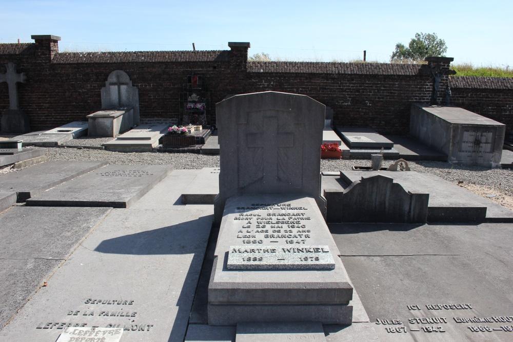 Belgian War Grave Haut-Ittre
