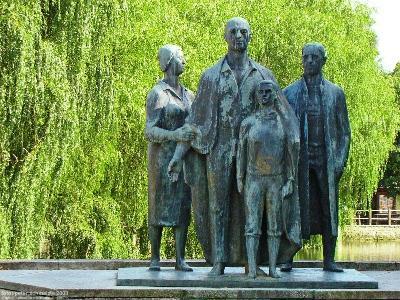Monument Dwangarbeiders Teterow