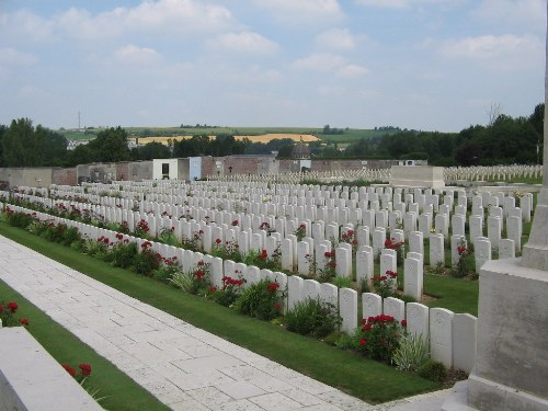 Commonwealth War Graves Doullens Extension No. 1