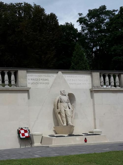 Monument voor de Amerikaanse Piloten