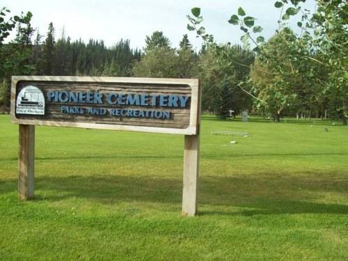 Commonwealth War Grave Whitehorse Pioneer Cemetery