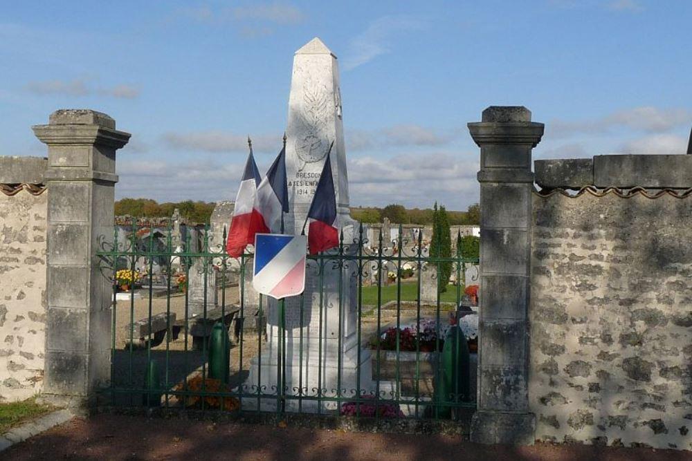 War Memorial Bresdon