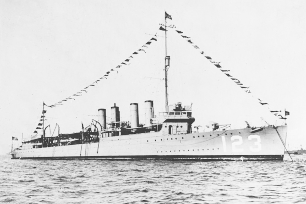 Scheepswrak USS Gamble (DD-123 / DM-15)