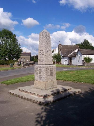 War Memorial Cellan