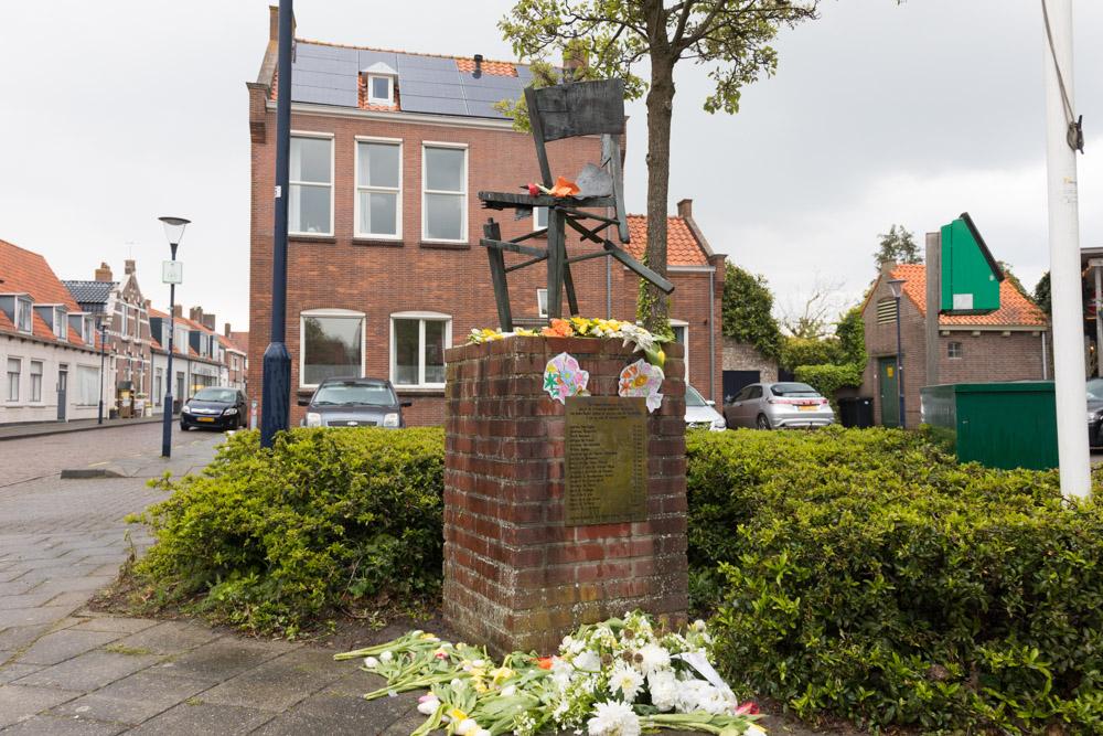 Monument Burgerslachtoffers Zuidzande