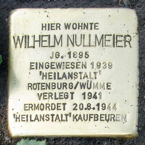 Stumbling Stone Mühlenberg 14
