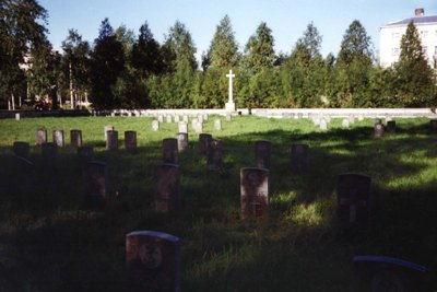 Commonwealth War Cemetery Archangelsk