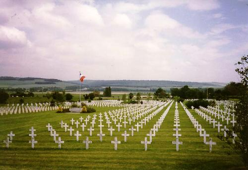 French War Cemetery Dugny-sur-Meuse