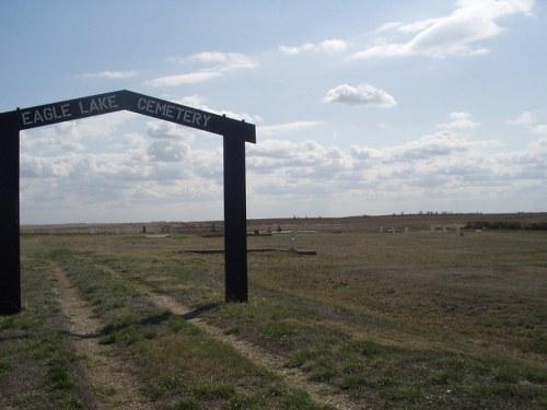 Commonwealth War Grave Eagle Lake Cemetery