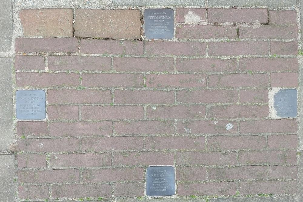Stumbling Stones Paul Krugerstraat 25
