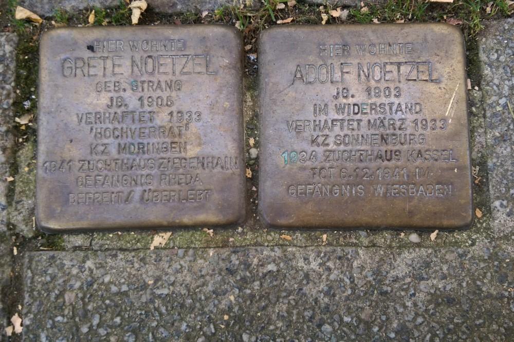 Stolpersteine Scharnhorststraße 19