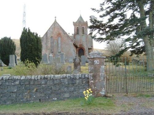 Commonwealth War Graves Elvanfoot Churchyard