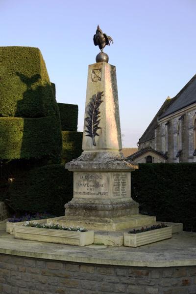 Oorlogsmonument Amayé-sur-Orne