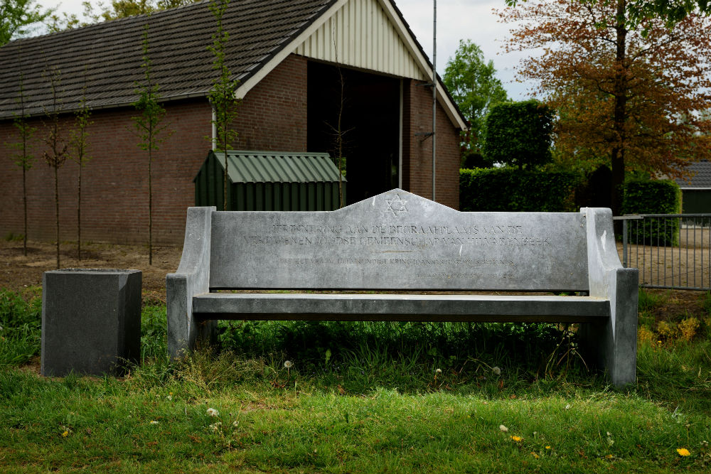Bench to the Memory of Jewish Cemetery