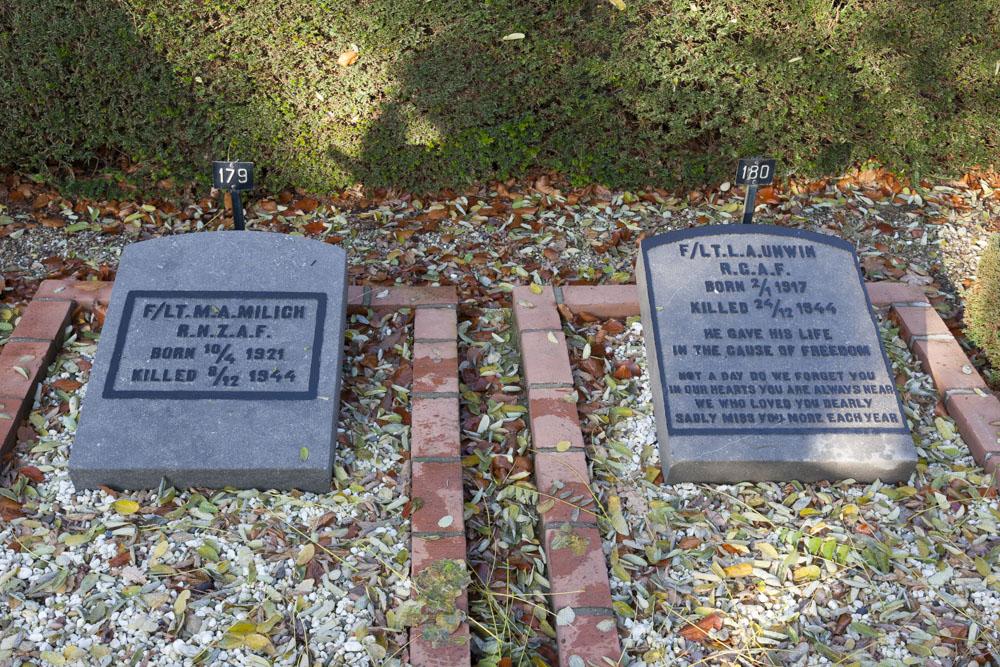 Oorlogsgraven van het Gemenebest Algemene Begraafplaats Woudenberg